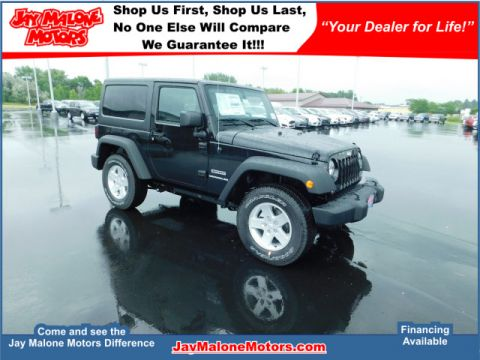 New Jeep Wrangler in Hutchinson  Jay Malone Motors